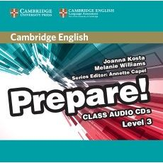 Cambridge English Prepare! 3 - Class Audio CDs (2)