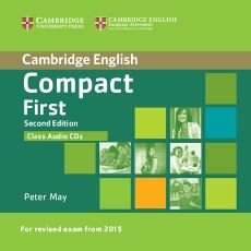 Compact First (2nd edition) - class audio CDs(2)