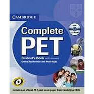 Complete PET - Student´s Pack (SB+CD-ROM+classCDs)