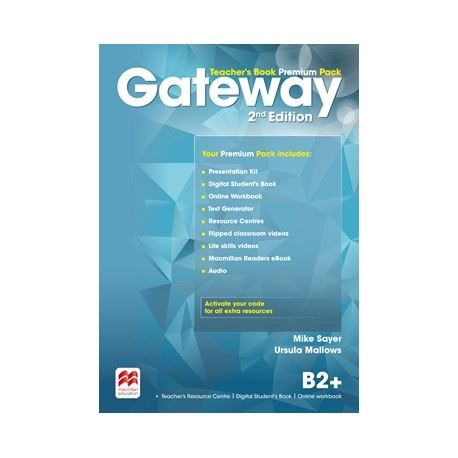 Gateway (to Maturita) B2+ (2nd Edition) - Teacher