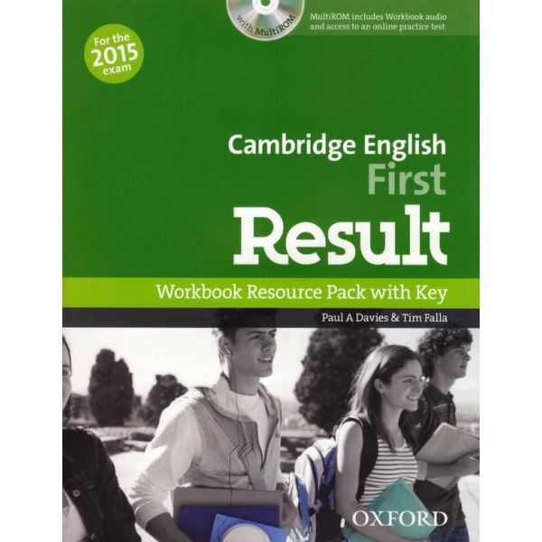 Cambridge English First Result - Workbook+key+CD-ROM