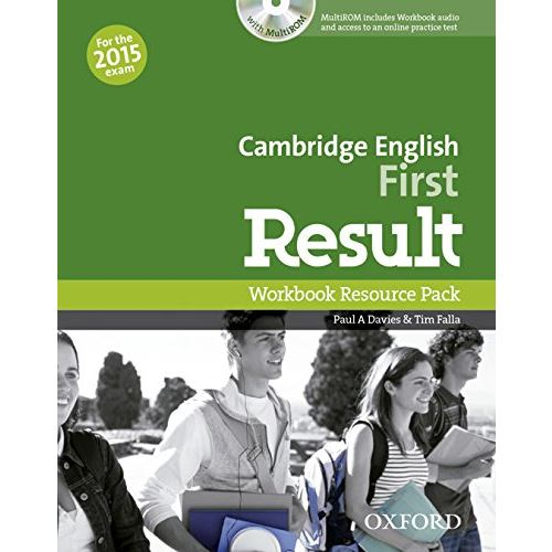 Cambridge English First Result - Workbook+CD-ROM without key