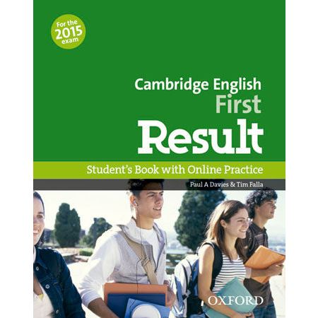 Cambridge English First Result - Student
