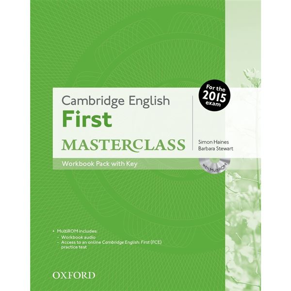 Cambridge English First Masterclass - Workbook with key