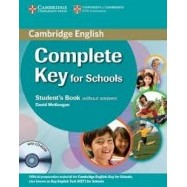 Complete Key for Schools - Student's Pack (SB+CD-ROM+WB) without answers