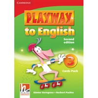 Playway to English (2nd edition) 3 - Cards Pack