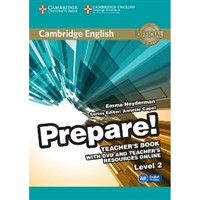 Cambridge English Prepare! 2 - Teacher's Book + DVD + Online Resources