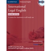 International Legal English (2nd edition) - Student's Book + audio CD