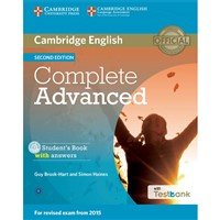 Complete Advanced (2nd edition) - Student's Book + Testbank with answers