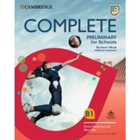 Complete Preliminary for Schools (2nd edition) - Student's Book+Workbook+Online Practice without answers