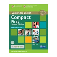 Compact First (2nd edition) - Student's Book + Testbank with answers