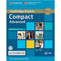 Compact Advanced (2015) - Student's Book + Testbank with answers
