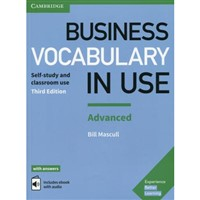 Business Vocabulary in Use Advanced with answers + ebook (3rd edition)