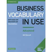 Business Vocabulary in Use Advanced with answers (3rd edition) without ebook