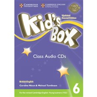 Kid´s Box 6 (2nd edition UPDATED) - Class Audio CDs (4)