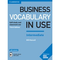 Business vocabulary in Use Int (3rd edition) with anwers+ eBook
