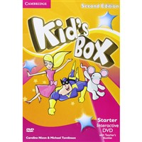 Kid's Box Starter (2nd edition+UPDATED) - Interactive DVD+Teacher's Booklet