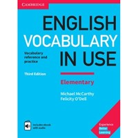 English Vocabulary in Use Elementary (3rd edition) with answers with ebook