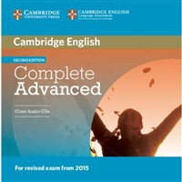 Complete Advanced (2nd edition) - Class Audio CDs