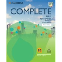 Complete First for Schools (2n edition) - Workbook + Audio Download without key