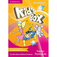 Kid's Box Starter (2nd edition+UPDATED) - Flashcards