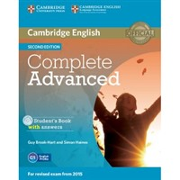 Complete Advanced (2nd edition) - Student's Book with answers