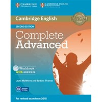 Complete Advanced (2nd ed.) - WB with answers