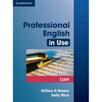 Professional English in Use-Law with key