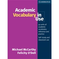 Academic Vocabulary in Use +Key
