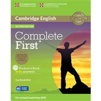 Complete First (2nd edition) - Student's Book + Class Audio CDs with answers