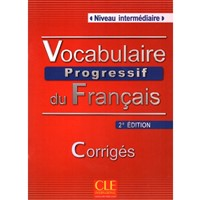 Vocabulaire Progressif du Franc. Interm. - KLÍČ (2 édition)