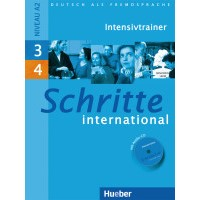 Schritte international 3+4 - Intensivtrainer+audio CD
