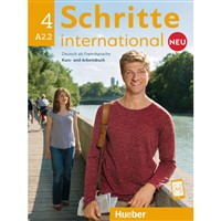 Schritte international 4 NEU - Paket KB+AB