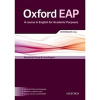Oxford EAP (English for Academic Purposes) Intermediate - Student's Book+DVD