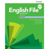English File Intermediate (4th edition) - Workbook+key