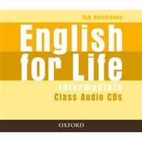 English for Life Intermediate - class audio CDs(3)