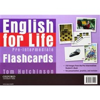 English for Life Pre-Intermediate - Flashcards