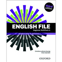 English File Beginner (3rd edition) - MultiPACK A (bez Online Skills Practice)