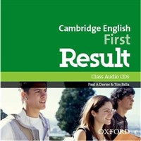 Cambridge English First Result - Class Audio CDs/MP3