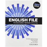 English File Pre-Intermediate (3rd edition) - Workbook without key