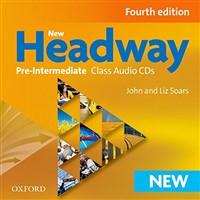 Headway Pre-Intermediate (4th edition) - Class Audio CDs(3)