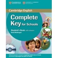 Complete Key for Schools - Student's Book+CD-ROM with answers