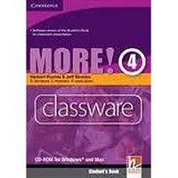 More! 4 - Classware CD-ROM