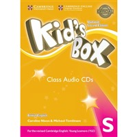 Kid´s Box Starter (2nd edition UPDATED) - Class Audio CDs (4)