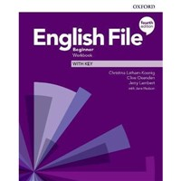 English File Beginner (4th edition) - Workbook+key